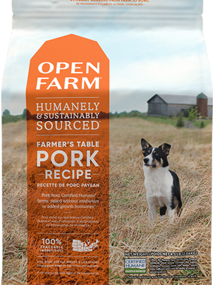 Homestead- Farmer's Table Pork