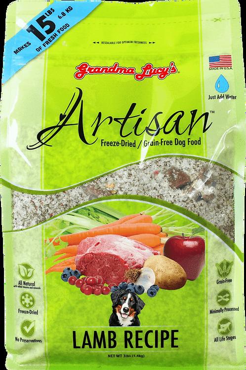 Artisan- Lamb Recipe