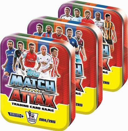 Match Attaxs cards Box of 50
