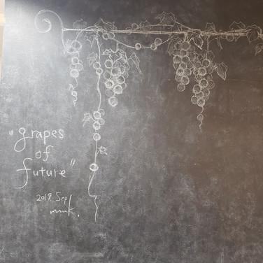 Details of Chalk art