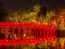 Hanoi Bridge, Vietnam