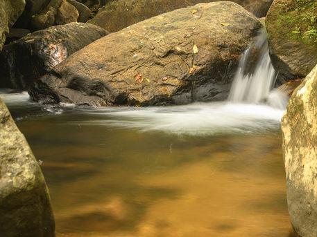 Patan Oya Ella Falls, Sihnaraja Forest, Sri Lanka