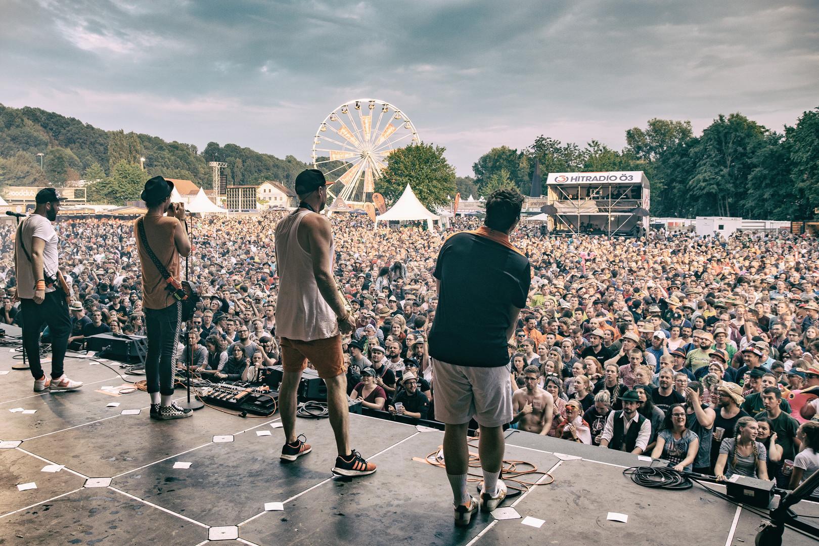 Juni @Woodstock der Blasmusik