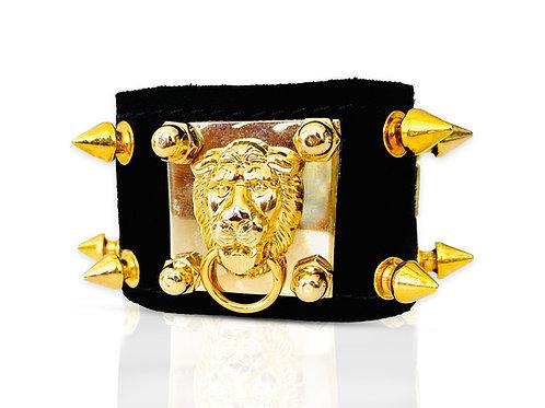 Bracelet Empire Gold Spikes