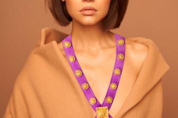 EMPIRE CROSSBODY ( Model Muse - Purple ).