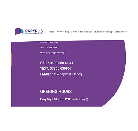 PAPYRUS Call Line Landing Page'.png