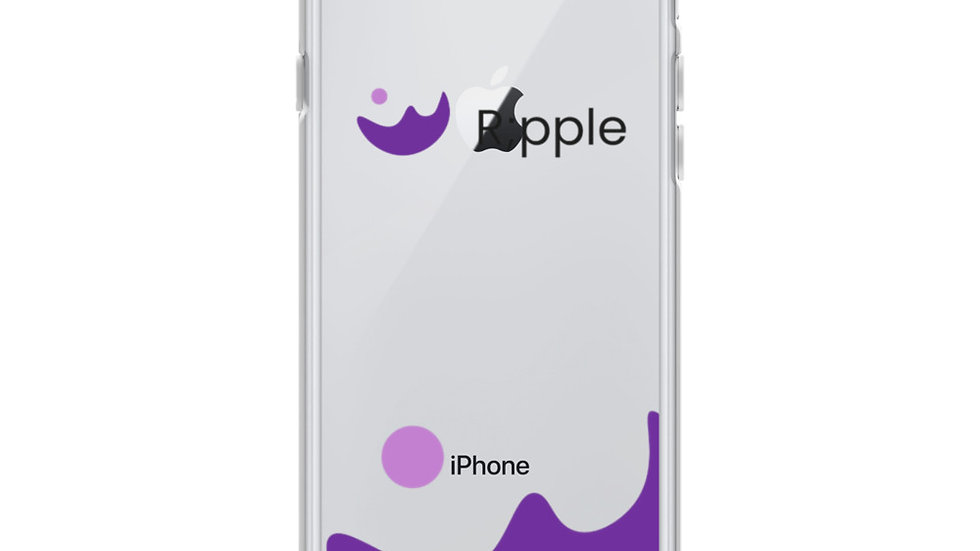 R;pple Suicide Prevention iPhone Case