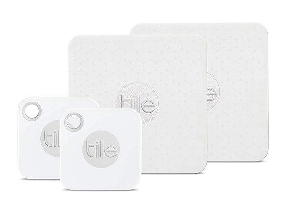 Tile 4 Pack - 2 x Mate, 2 x Slim