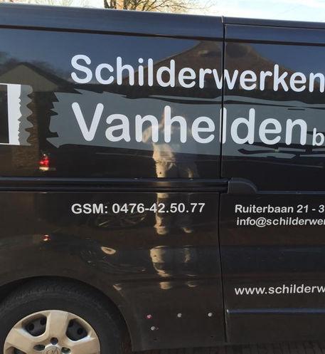 Bedrijfswagen Algemene Schilderwerken Vanhelden BVBA