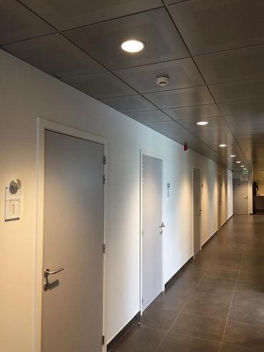 Binnen schilderwerken diagnosecentrum Lommel