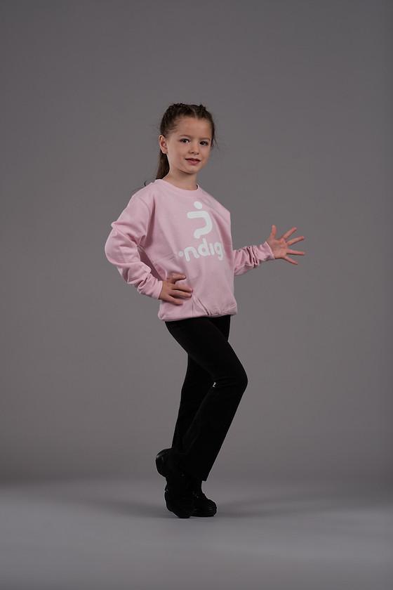 Candy Pink ∙ndigo Sweater