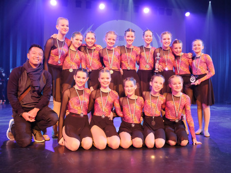 DanceWaves Competition | Knokke-Heist | Dansstudio Indigo Teams 2018