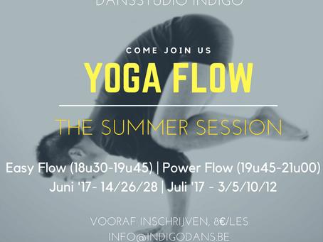 Yoga Flow Summer Session 2017