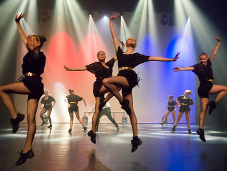 Dansvoorstelling 2017 'ON THE WAY'