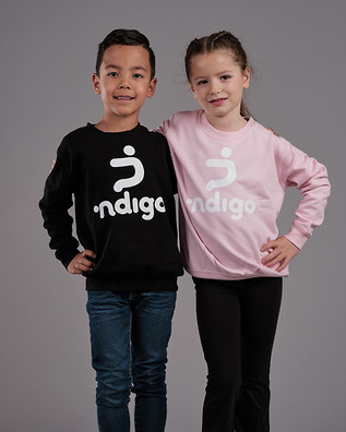 Boy & Girl ∙ndigo Sweater