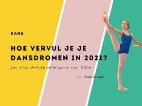 HOE VERVUL JE JE DANSDROMEN IN 2021?