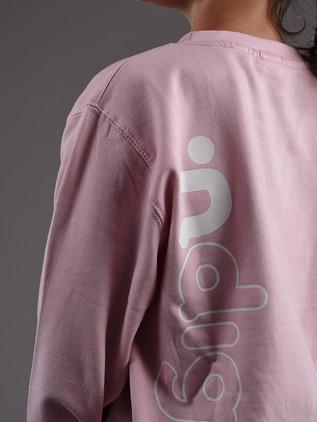 ∙ndigo sweater Candy Pink