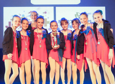 Dansstudio Indigo wint op Dance Waves Competition-Harelbeke .. Dansstudio Indigo wins at Dance Waves