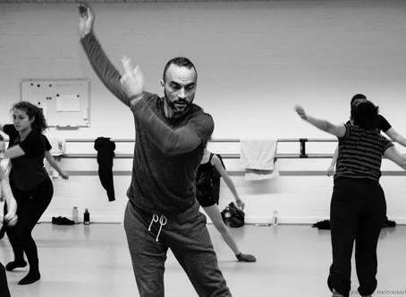 Workshop met David Hernandez in dansstudio indigo..WORKSHOP WITH DAVID HERNANDEZ at Dancestudio INDI