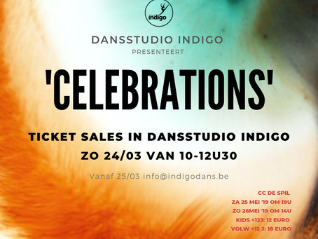 Dansstudio Indigo presenteert 'Celebrations'