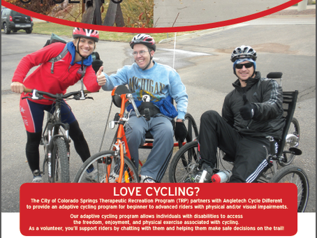 Volunteer with Colorado Springs Adaptive Cycling Program