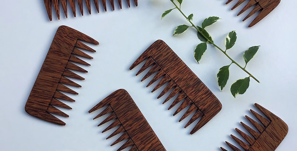 Coconut Comb - Thick & Curly