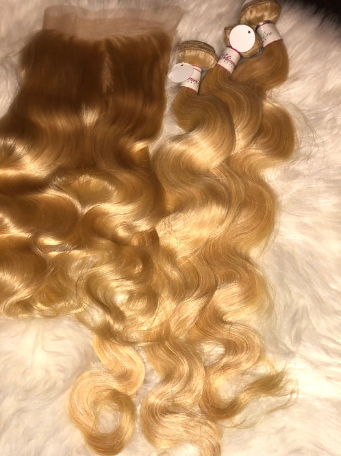 Blonde (613) 3 bundle + Frontal deal