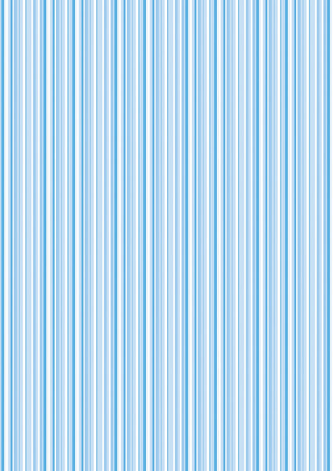 1 x A4 Blue and White Stripe Wallpaper Decor Icing Sheet