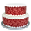 Thumbnail: Red Lace Borders Decor Icing Sheet Cake Decoration