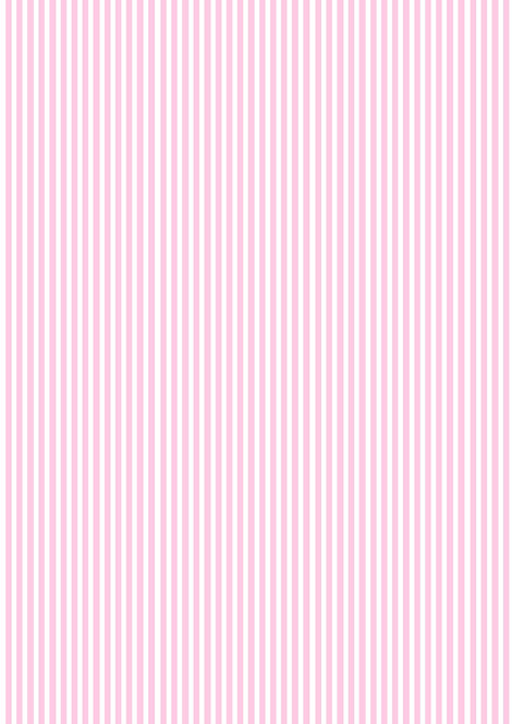 1 x A4 Pink and White Stripe Wallpaper Decor Icing Sheet