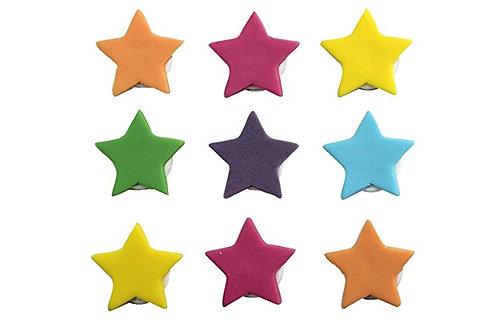 Colourful Stars Edible Sugarcraft Icing