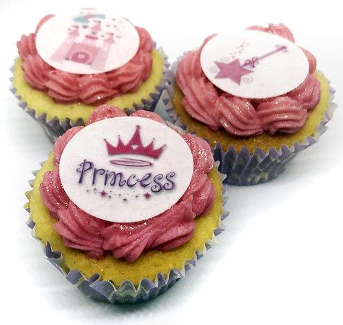 24 Princess Pre-Cut Thin Edible Wafer Paper