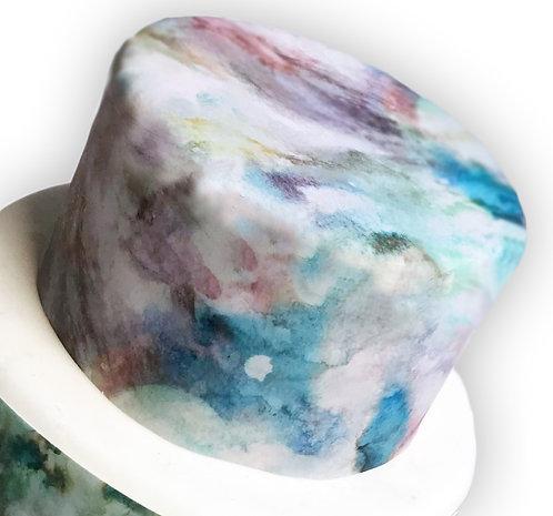 Pastel Marble Effect Wallpaper Edible Decor Icing Sheet