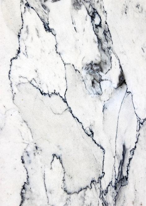 White Black Marble Design Wallpaper Decor Icing Sheet