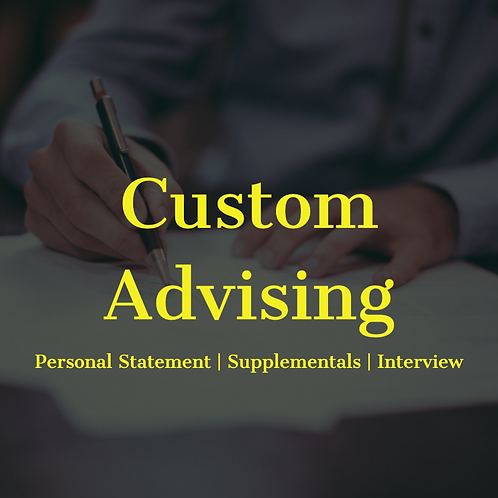 Custom Advising