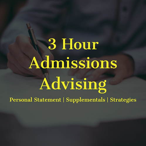 3-Hour Advising Session