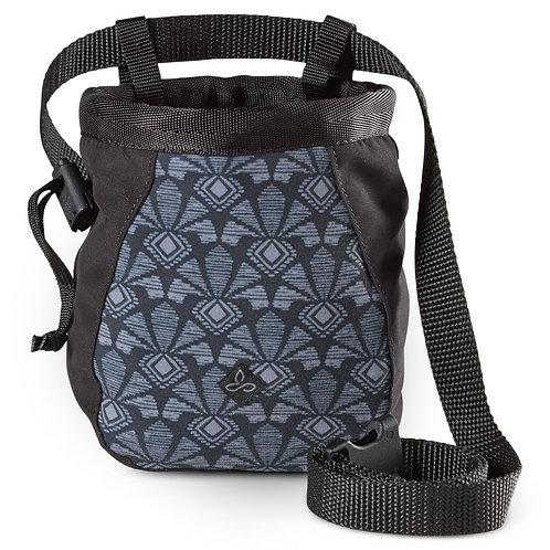 Prana Chalk Bag: Charcoal Botanica