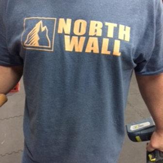 North Wall T-Shirt (Blue)