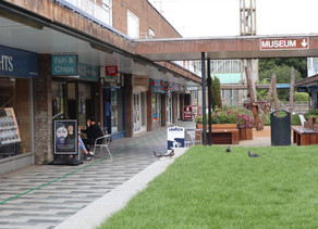 Stevenage Town Centre Coming Out Of Lockdown