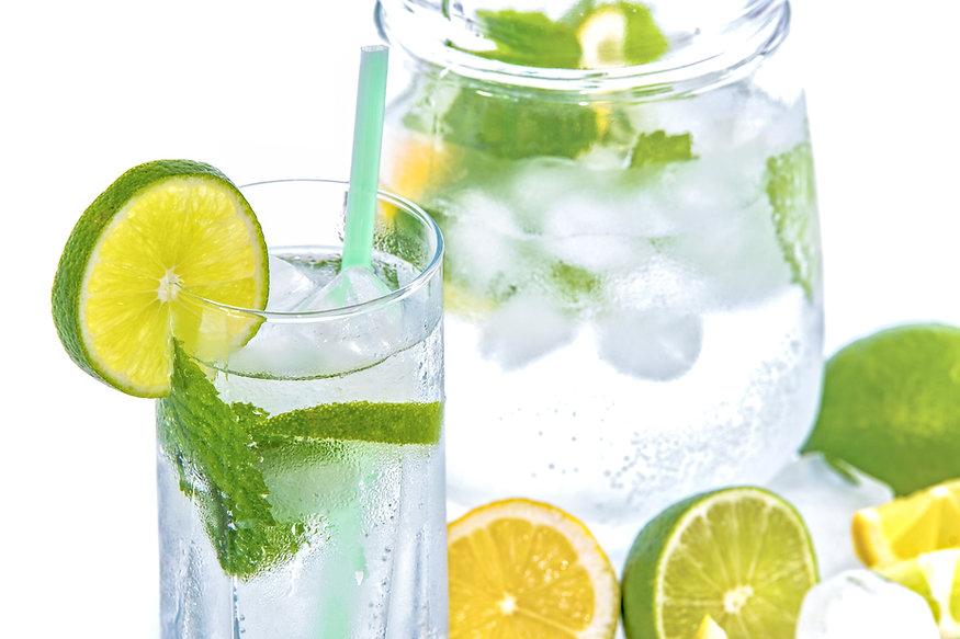 Um jarro de água