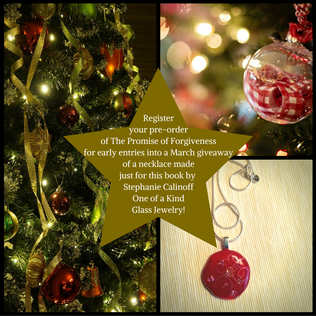 Custom-made Necklace Giveaway for The Promise Of Forgiveness