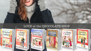 Chocolate Shop Love + Upcoming Giveaway
