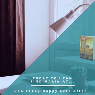 USA Today Happy Ever After Interview: Marin Thomas, author of 'The Promise of Forgiveness'