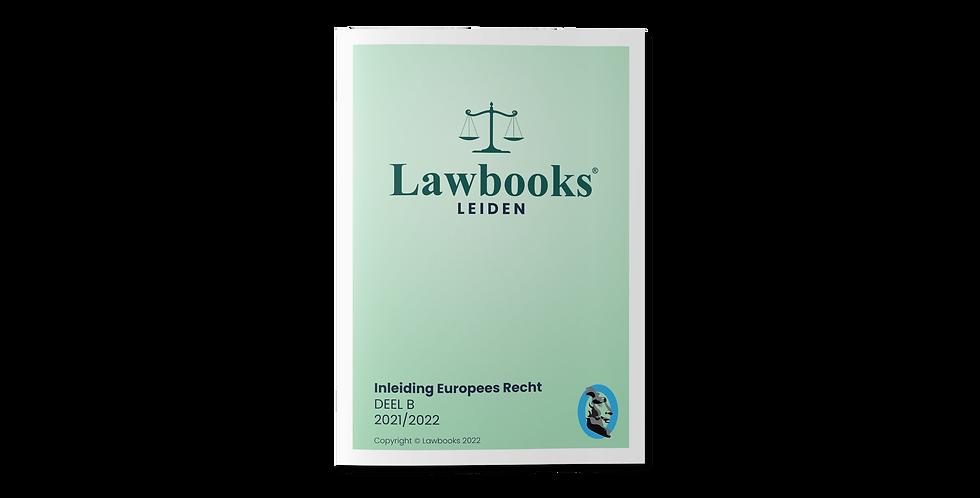 Inleiding Europees Recht DEEL B