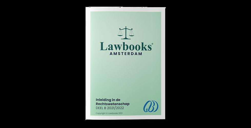 Inleiding in de Rechtswetenschap DEEL B