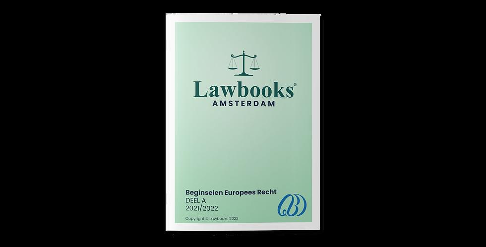 Beginselen Europees Recht DEEL A