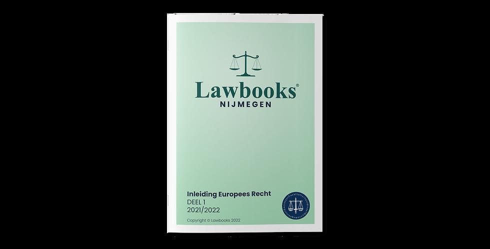 Inleiding Europees Recht DEEL 1