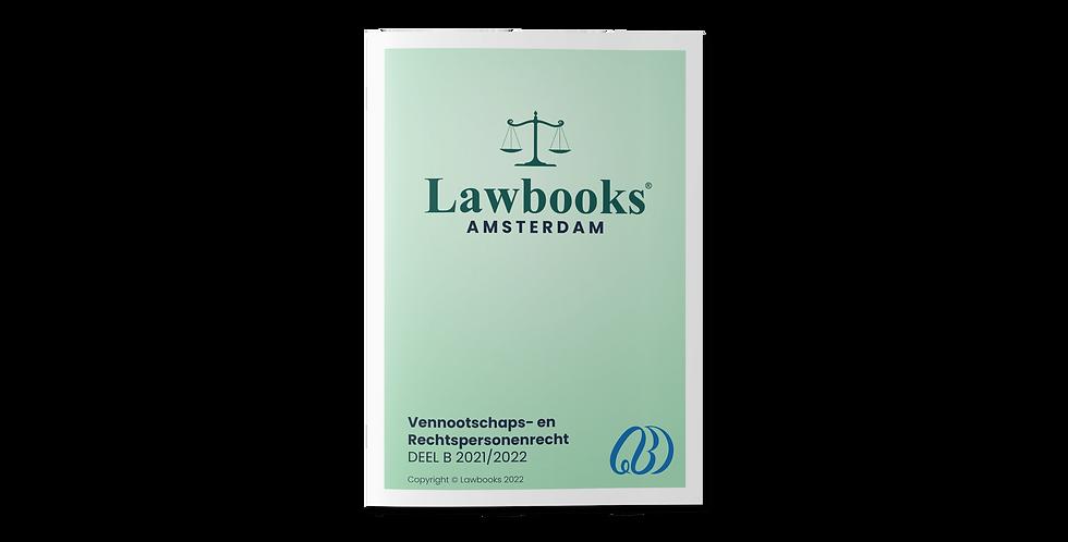 Vennootschappen- en Rechtspersonenrecht DEEL B