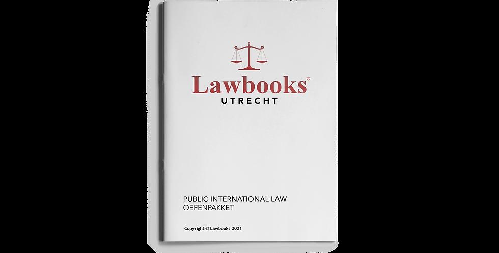 Public International Law OEFENPAKKET
