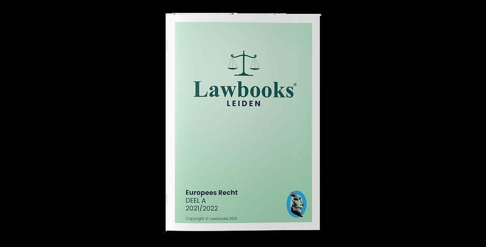 Europees Recht DEEL A